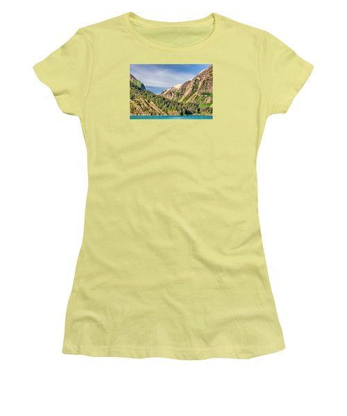 Valley Of Trees Women's T-Shirt (Junior Cut) by Lewis Mann