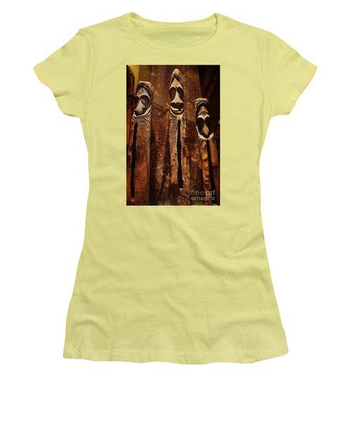 Vanuatu Trio Women's T-Shirt (Junior Cut) by Craig Wood