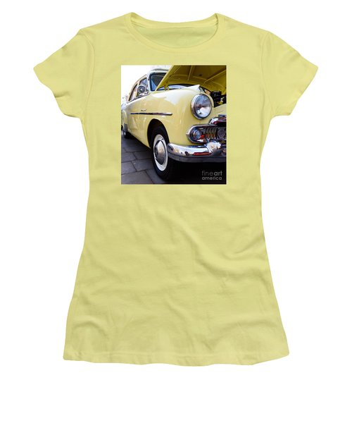 Vauxhall Velox Women's T-Shirt (Junior Cut) by Colin Rayner