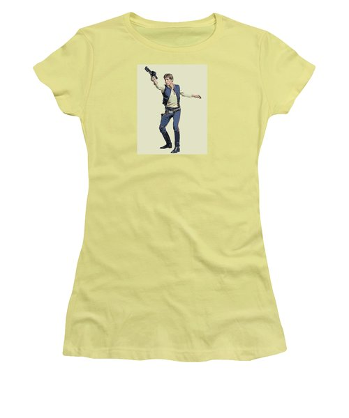 Vector Solo Women's T-Shirt (Athletic Fit)