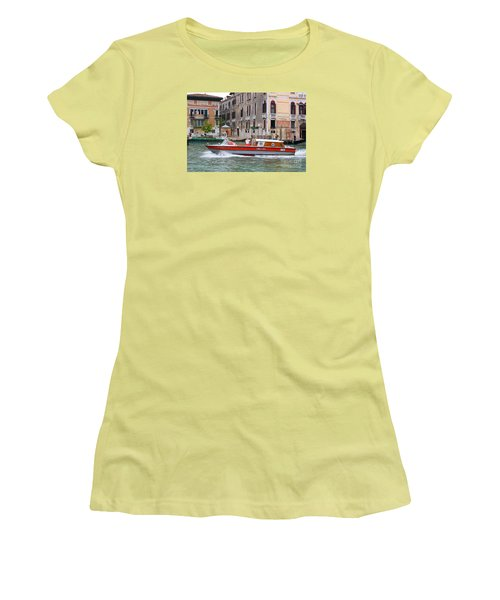 Venetian Ambulance Women's T-Shirt (Athletic Fit)