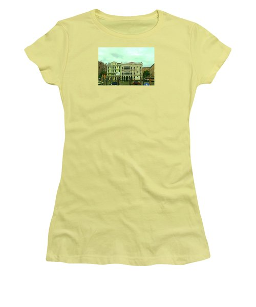 Women's T-Shirt (Athletic Fit) featuring the photograph Venetian Aternoon by Anne Kotan