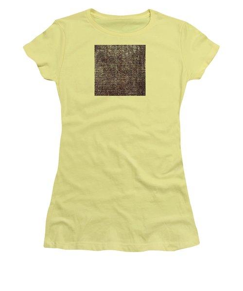Women's T-Shirt (Athletic Fit) featuring the photograph Venetian Babel by Anne Kotan