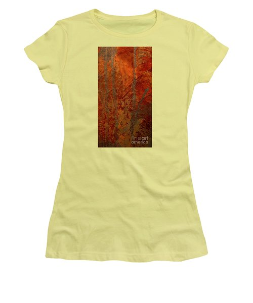 Women's T-Shirt (Junior Cut) featuring the mixed media Venice by Michael Rock