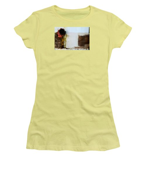 Women's T-Shirt (Junior Cut) featuring the photograph Vent by Newel Hunter