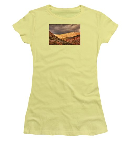 Verde Canyon View Pnt Women's T-Shirt (Athletic Fit)