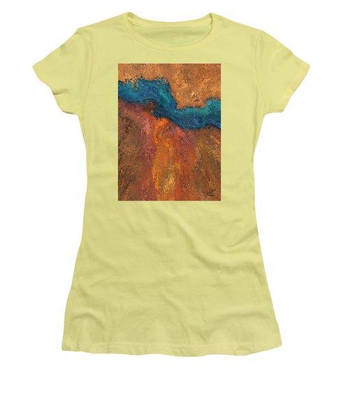 Verge Women's T-Shirt (Junior Cut) by The Art Of JudiLynn