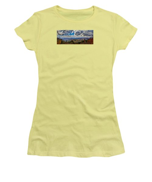 Vermont Autumn From Mt. Ascutney Women's T-Shirt (Athletic Fit)
