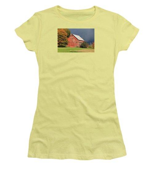 Vermont Farm Women's T-Shirt (Junior Cut)