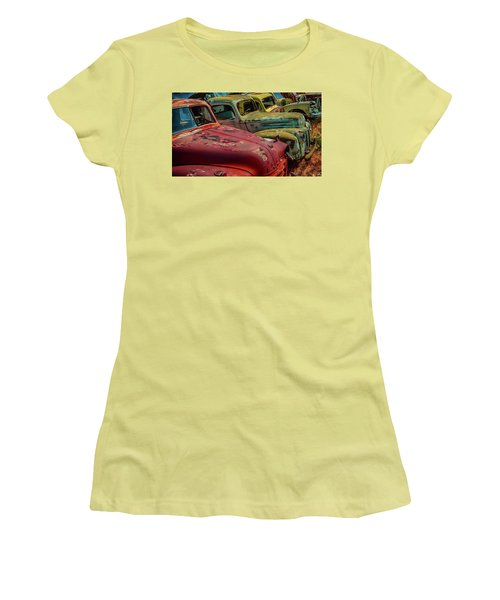 Very Late Models Women's T-Shirt (Athletic Fit)