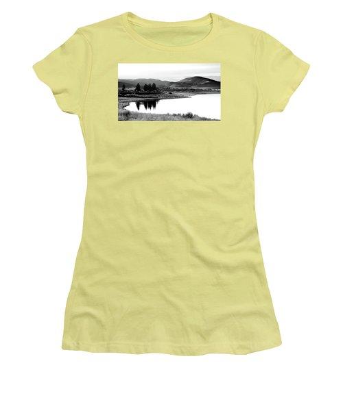 Women's T-Shirt (Junior Cut) featuring the photograph View by Brian Duram