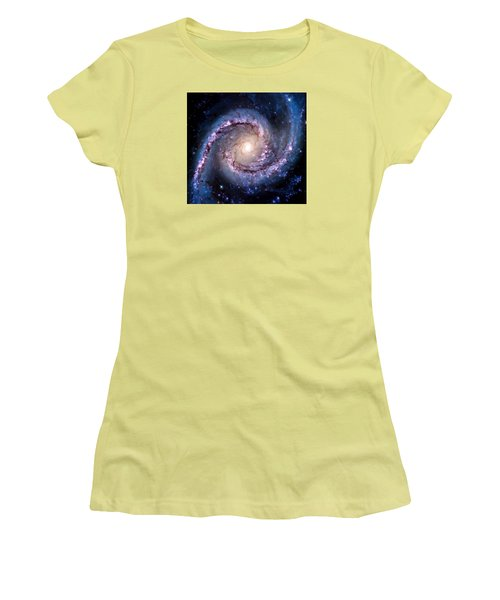 View From Hubble Women's T-Shirt (Athletic Fit)