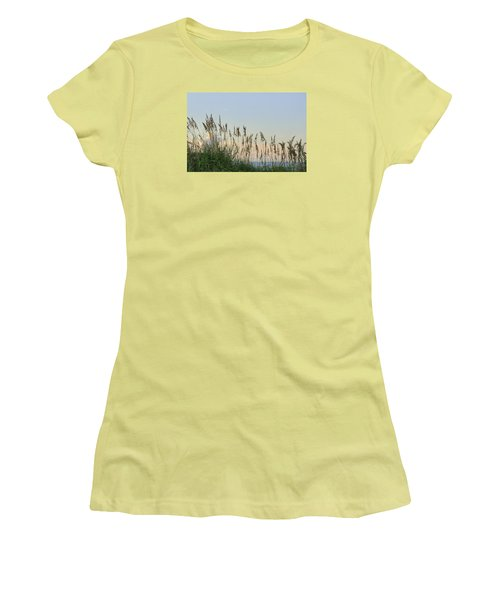View Through The Sea Oats Women's T-Shirt (Junior Cut) by Bradford Martin