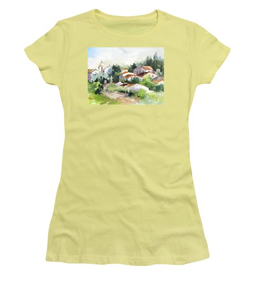 Village Life 5 Women's T-Shirt (Athletic Fit)