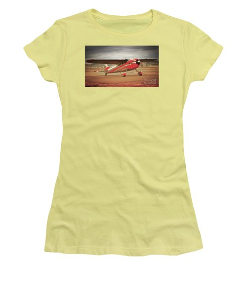 Vintage Monoplane Women's T-Shirt (Athletic Fit)