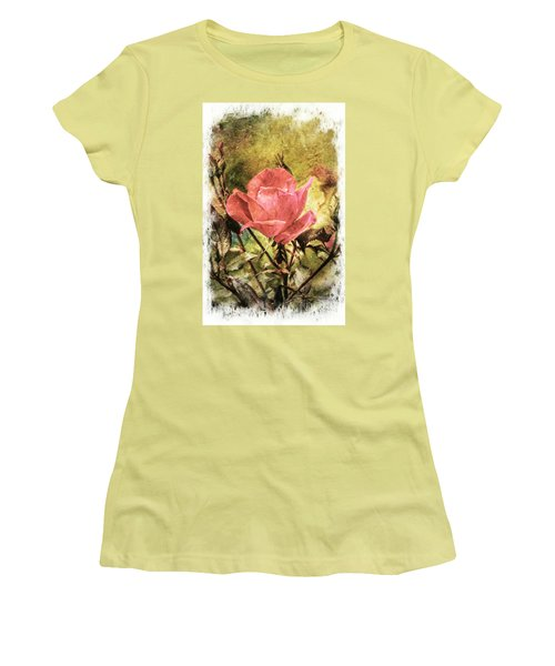 Vintage Rose Women's T-Shirt (Athletic Fit)