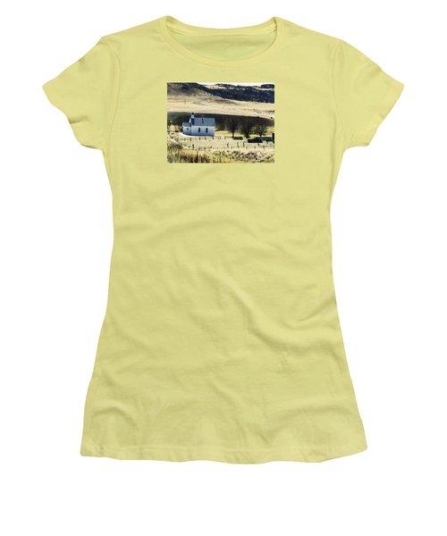 Virginia Dale Colorado Women's T-Shirt (Junior Cut) by Lenore Senior