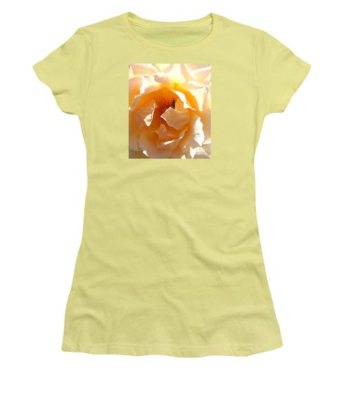 Women's T-Shirt (Junior Cut) featuring the photograph Visitor by Fred Wilson
