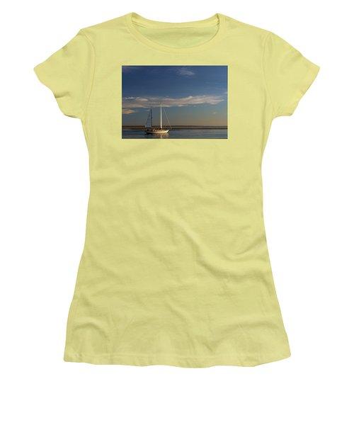 Visual Escape Women's T-Shirt (Junior Cut) by Patrice Zinck