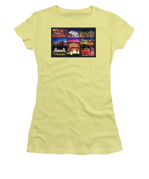 Viva Las Vegas Collection Women's T-Shirt (Athletic Fit)