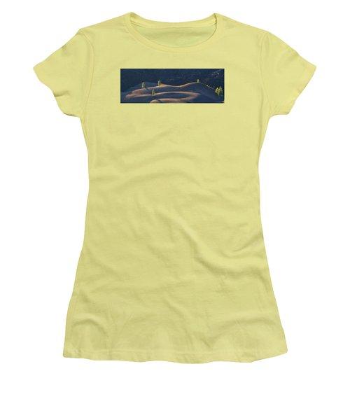 Women's T-Shirt (Junior Cut) featuring the photograph Volcanic by Dustin LeFevre