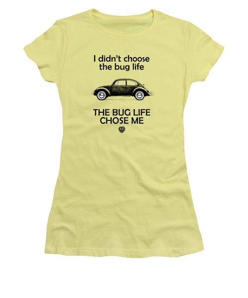 Volkswagen Beetle 1969 Women's T-Shirt (Athletic Fit)