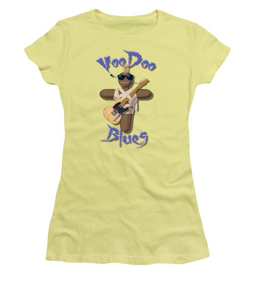 Voodoo Blues T Shirt Women's T-Shirt (Athletic Fit)