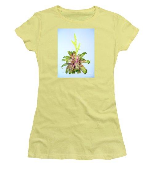 Vriesea Ospinae Var. Gruberi Women's T-Shirt (Athletic Fit)