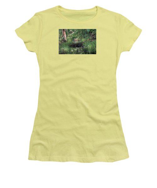 Wading Through The Swamp Women's T-Shirt (Athletic Fit)