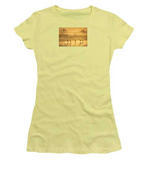 Waiting Women's T-Shirt (Junior Cut) by Alice Cahill
