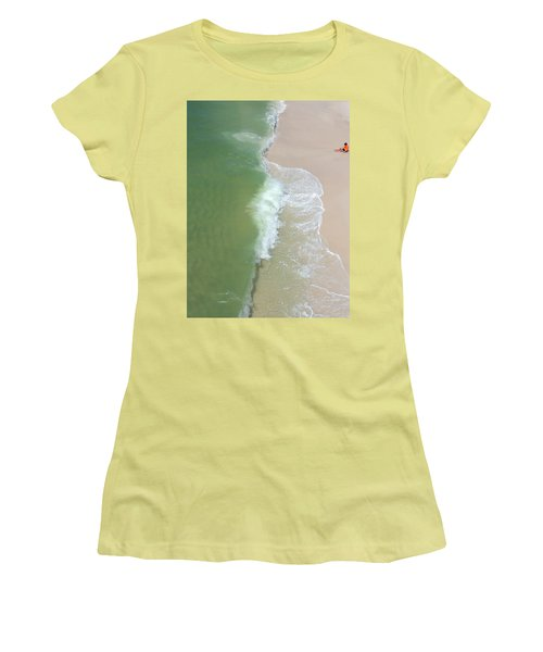 Waiting For The Wave Women's T-Shirt (Athletic Fit)