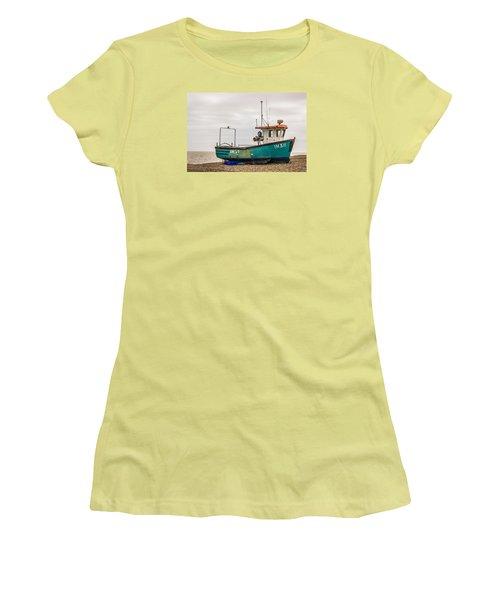 Waiting For Water Women's T-Shirt (Junior Cut) by David Warrington