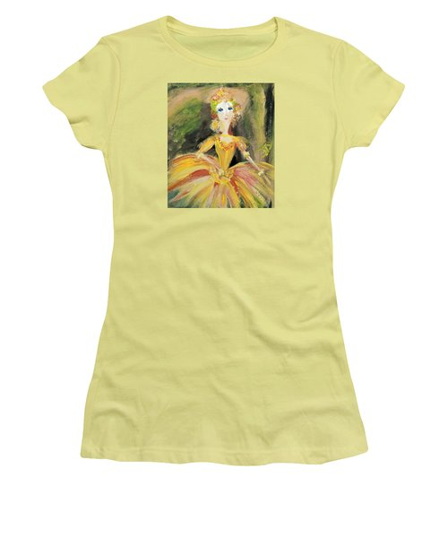 Waiting In The Wings Women's T-Shirt (Junior Cut) by Judith Desrosiers
