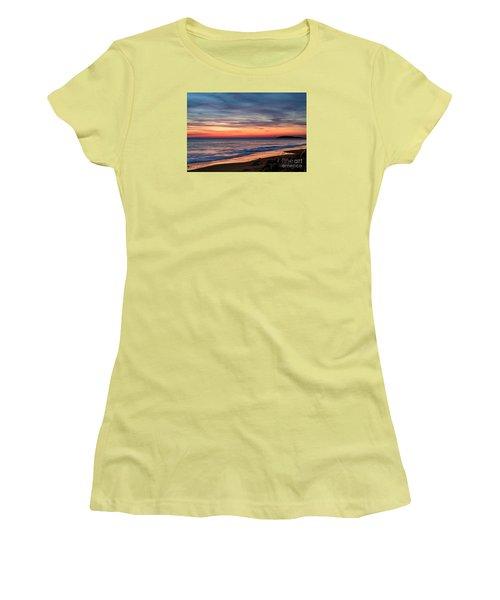 Wales Gower Coast Dusk Women's T-Shirt (Athletic Fit)