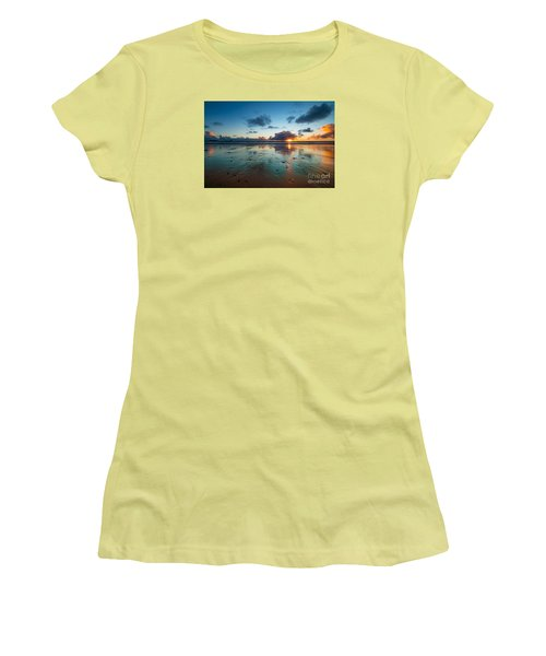 Wales Gower Coast Summer  Women's T-Shirt (Athletic Fit)