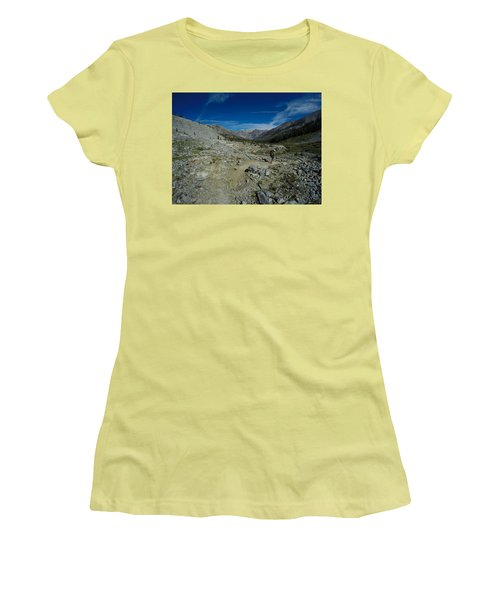 Walkin' Man Women's T-Shirt (Athletic Fit)