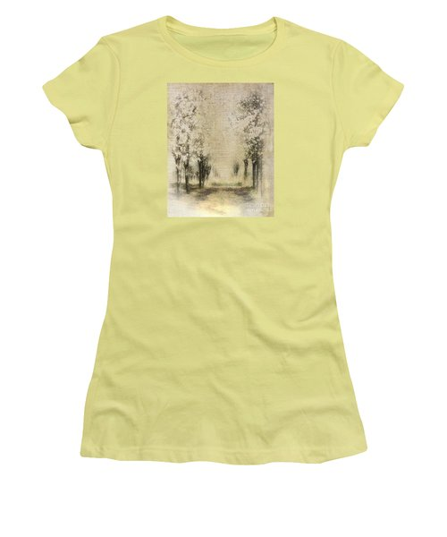 Walking Through A Dream IIi Women's T-Shirt (Junior Cut) by Dan Carmichael