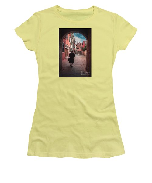 Walking Through Time - Venice, Italy Women's T-Shirt (Athletic Fit)