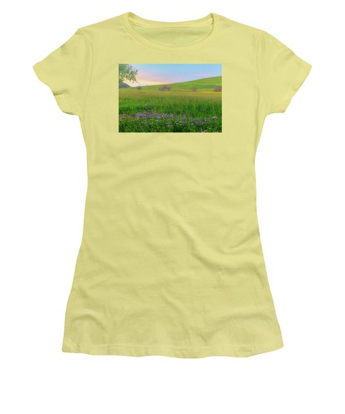 Wally Baskets At Sunrise Women's T-Shirt (Junior Cut) by Marc Crumpler