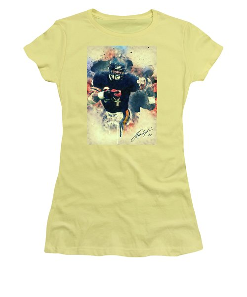 Walter Payton Women's T-Shirt (Athletic Fit)