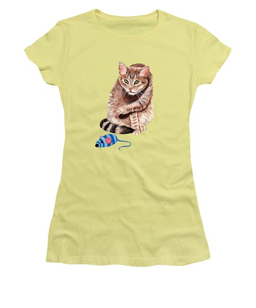 Want To Play Women's T-Shirt (Athletic Fit)