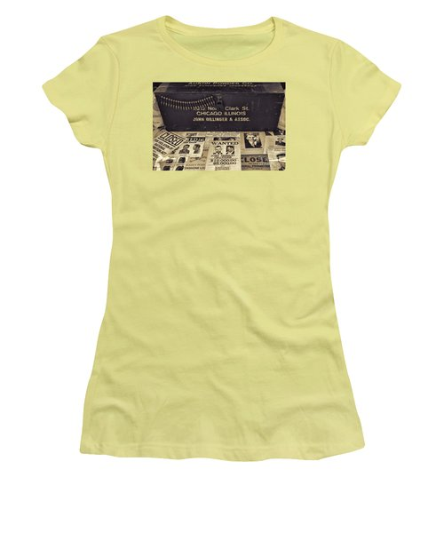 Wanted Women's T-Shirt (Athletic Fit)