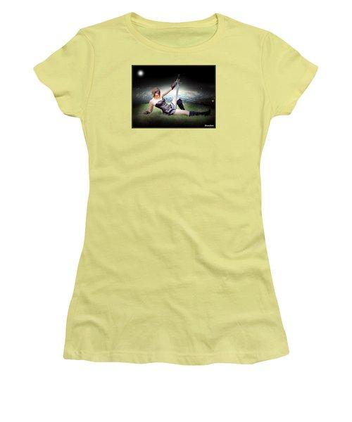 Warrior Princess At Rest Women's T-Shirt (Junior Cut)