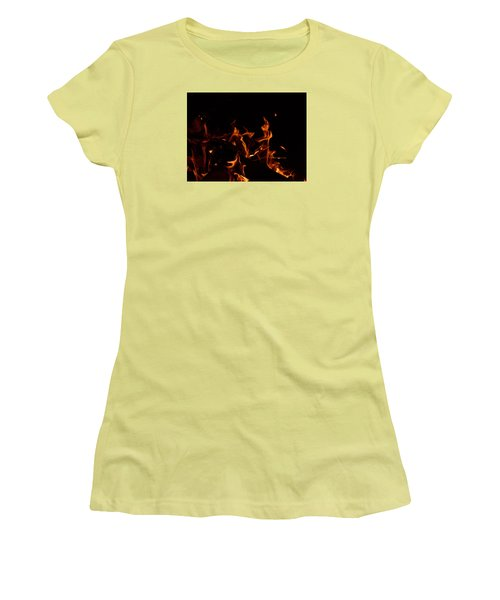 Warrior Rabbit Women's T-Shirt (Athletic Fit)