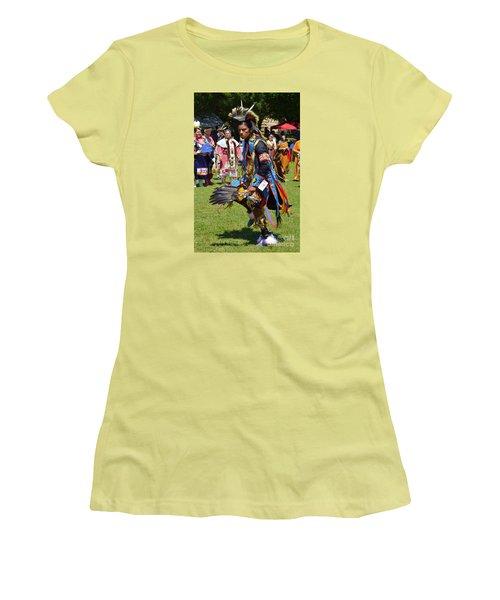 Warriors Dance Women's T-Shirt (Junior Cut) by Lew Davis