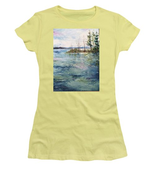Washed By The Waters Series Women's T-Shirt (Junior Cut) by Robin Miller-Bookhout