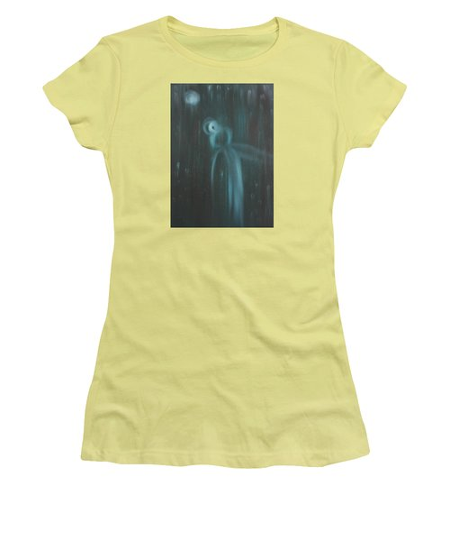 Wasted Time Women's T-Shirt (Junior Cut) by Min Zou