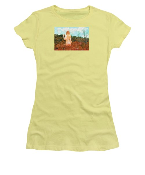 Watching Summer's Finale Women's T-Shirt (Athletic Fit)