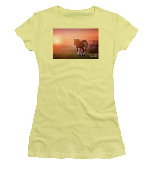 Watching The Sunset Women's T-Shirt (Junior Cut) by Tamyra Ayles