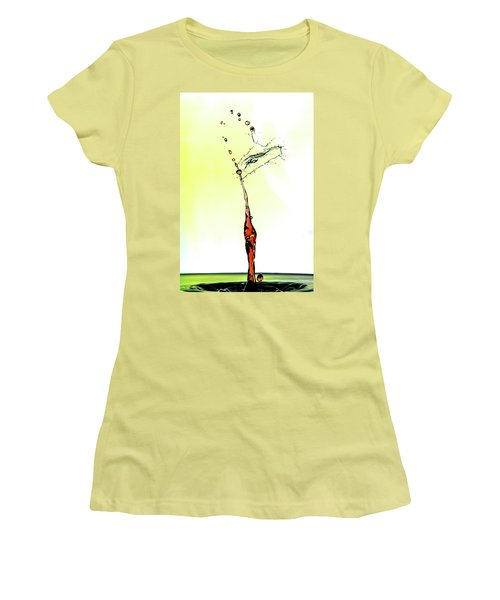 Water Drop #6 Women's T-Shirt (Athletic Fit)